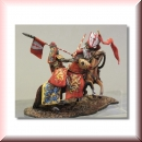"Valdemar-Miniatures: VM076 ""Danish Knight vs. Livonian Knight"" 1:72"