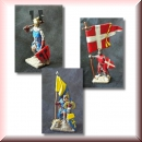 Valdemar-Miniatures: VM030 Medieval Military Order Command 1:72