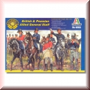 Italeri: 6065 British and Prussian Allied General Staff 1:72